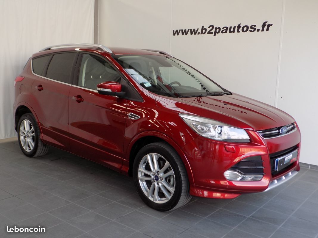 photo vehicule vendu - Ford kuga 2.0 tdci 150 cv sport platinium gps