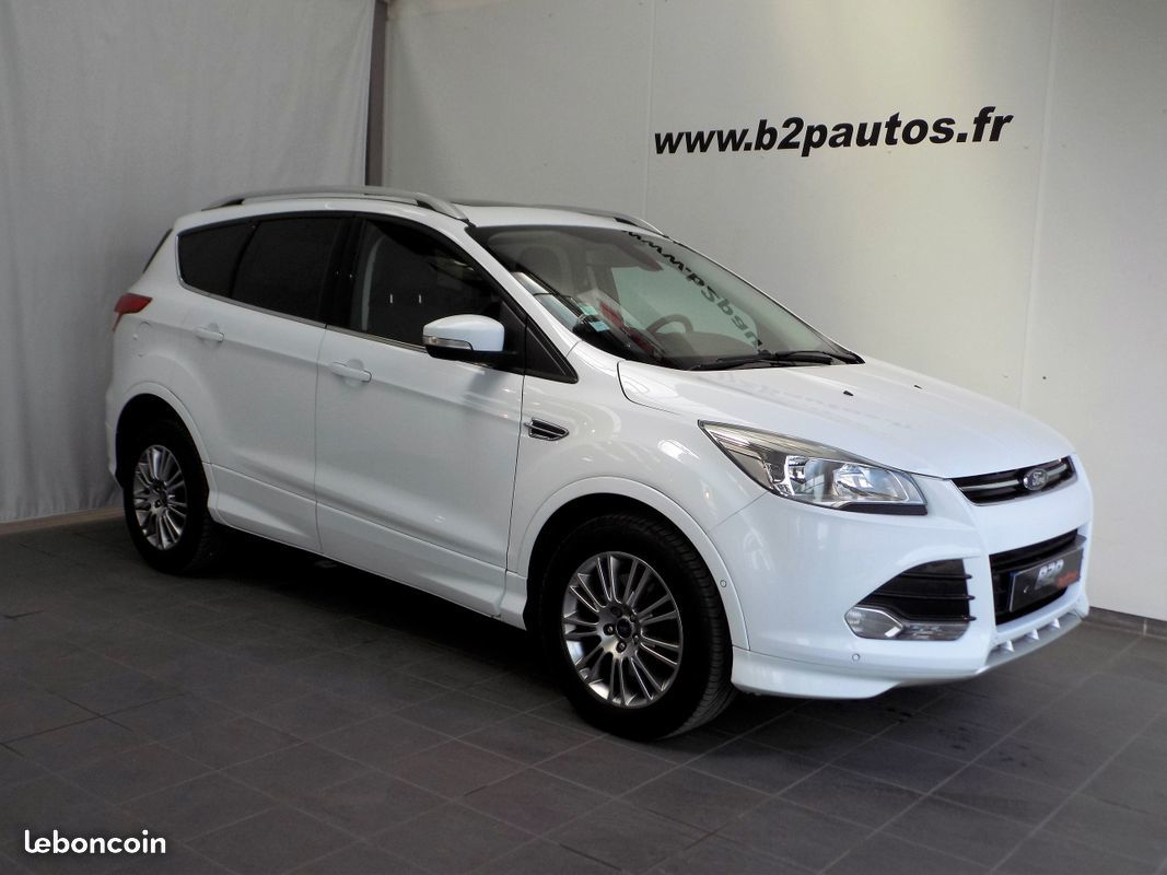 photo vehicule vendu - Ford kuga 2.0 tdci sport platinium gps