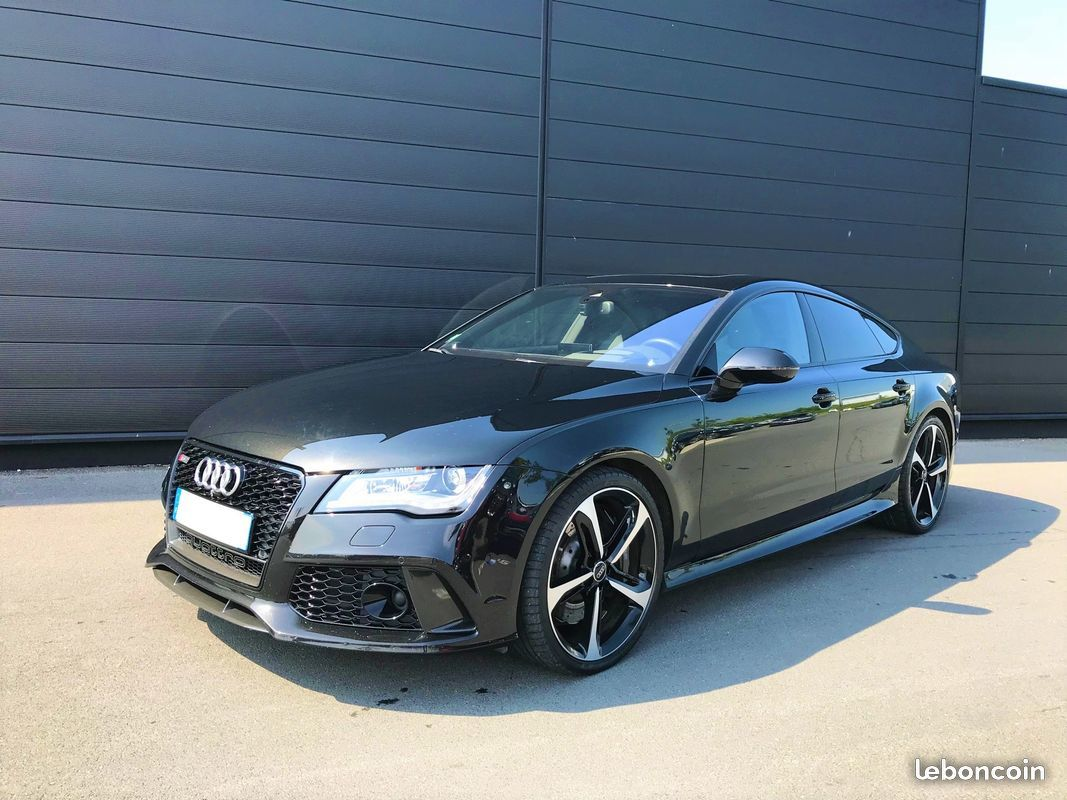 photo vehicule vendu - Audi rs7 4.0 vo tfsi 560 cv quattro 1ere main