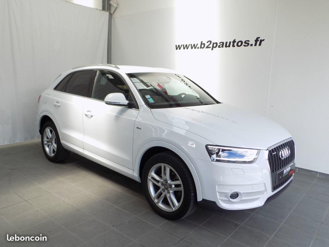photo vehicule vendu - Audi q3 2.0 tdi s-line quattro 177 cv s-tronic