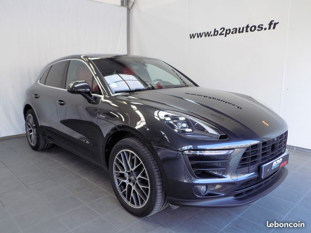 photo vehicule vendu - Porsche macan s v6 258 cv 1ere main carbone