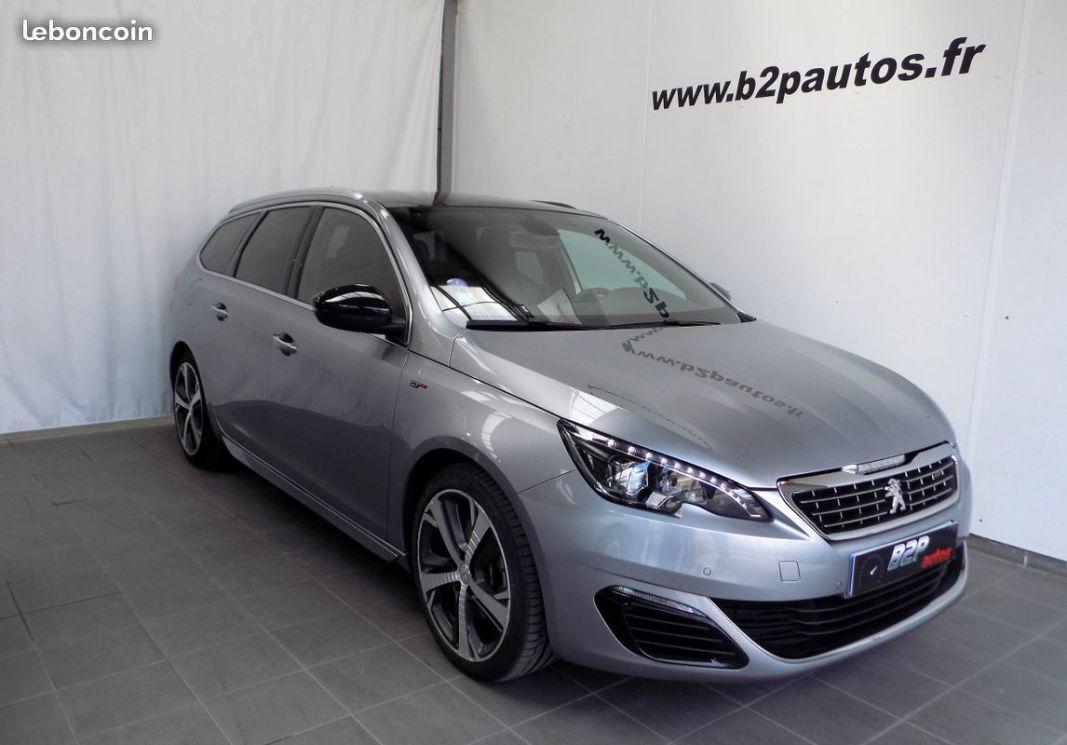 photo vehicule vendu - Peugeot 308 sw 21.6 thp 205 cv bv6 gt line 40000km