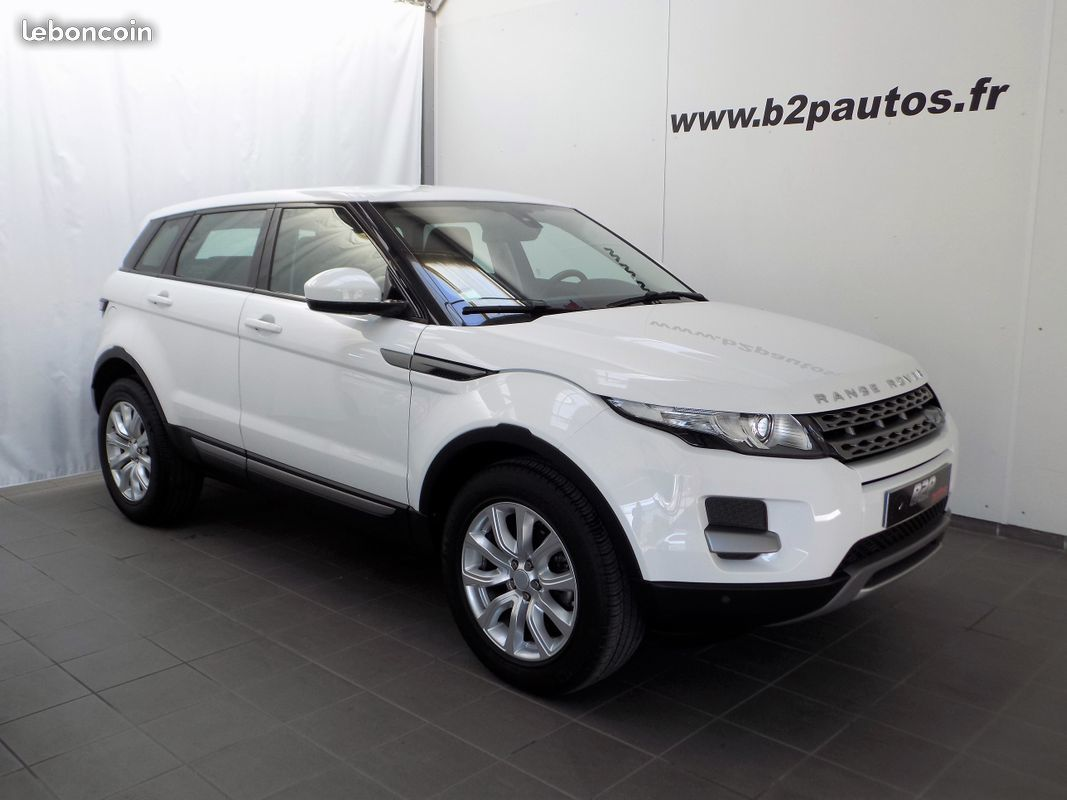photo vehicule vendu - Range rover evoque 4x4 2.2 td4 150 cv bva pure