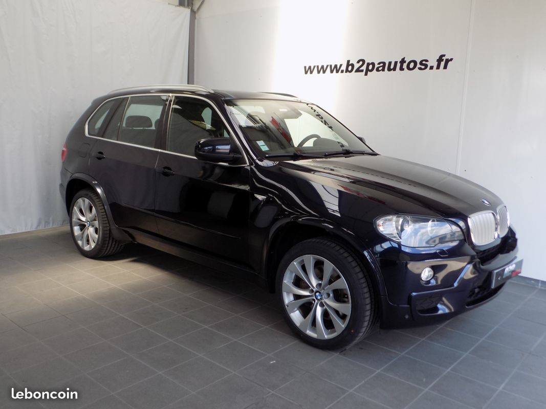 photo voiture bmw Bmw x5 3.0sd 286 cv m sport carbonschwarz full op