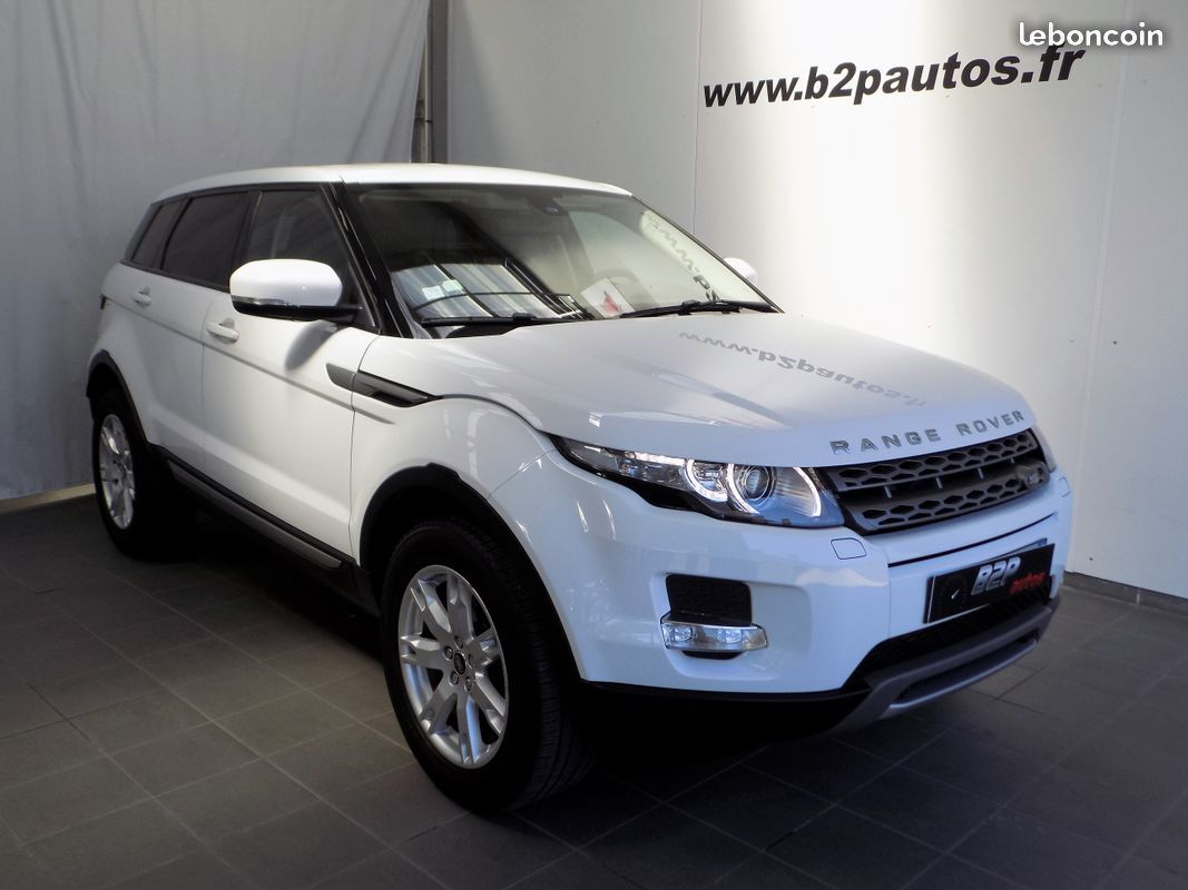 photo voiture land_rover Range rover evoque 2.2 sd4 190 cv bva 4x4