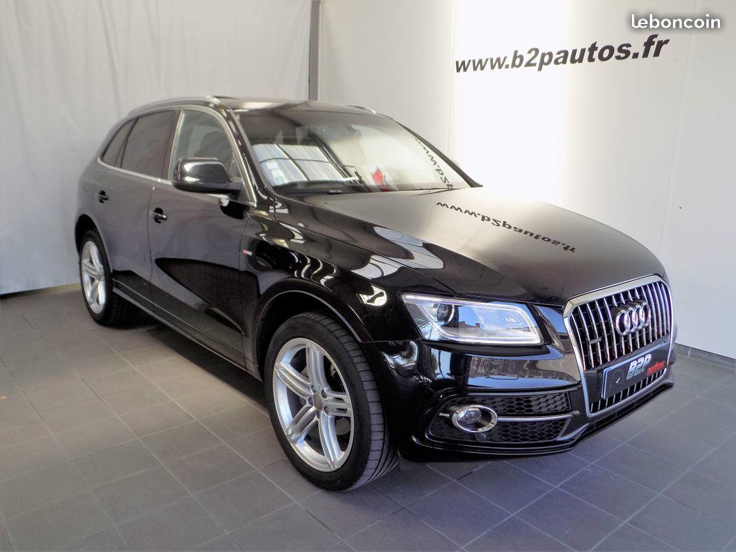 photo vehicule vendu - Audi q5 2.0 tdi quattro 177 cv bva s-line cuir
