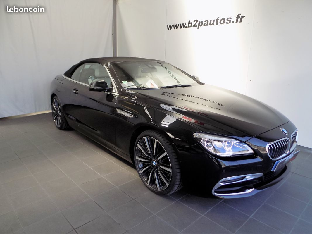 photo voiture bmw Bmw serie 6 cabriolet 640 d x-drive 313 cv 1ere m