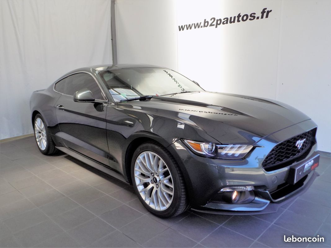 photo voiture ford Ford mustang 2.3 l 317 cv fastback pack premium