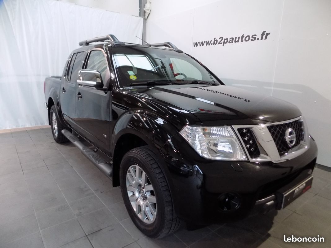 photo vehicule vendu - Nissan navara 3.0 bva v6 231 cv full options 4x4