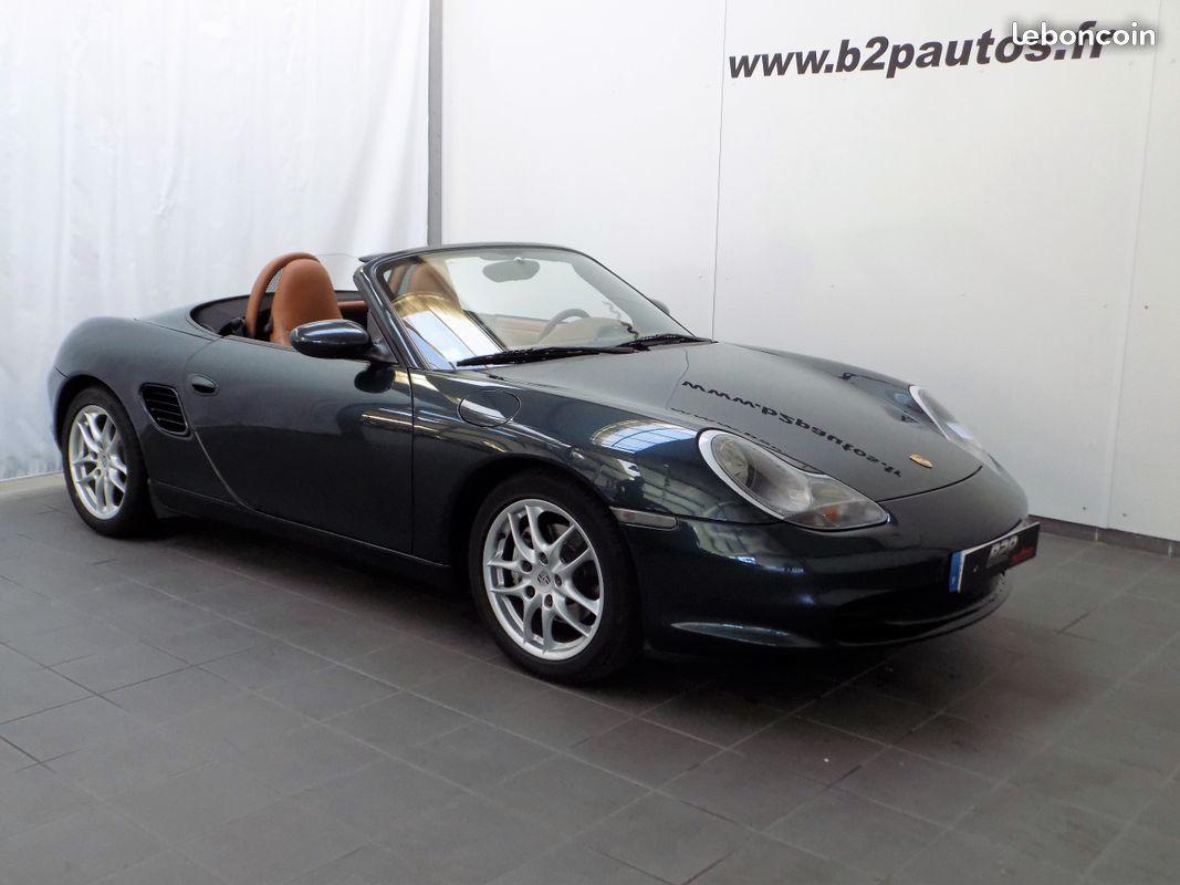 photo vehicule vendu - Porsche boxster 2.7 l 228 cv 87000 kms bvm