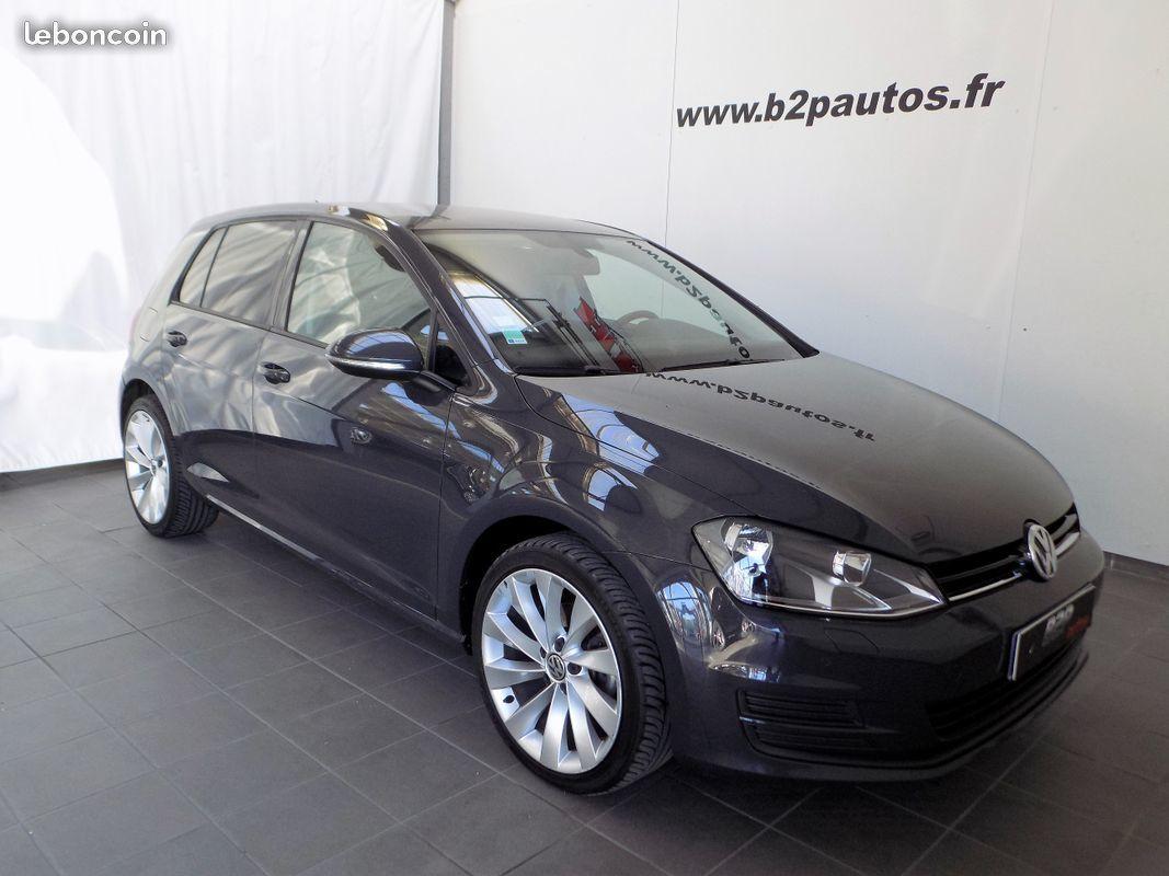 photo vehicule vendu - Volkswagen golf 7 1.6 tdi 105 cv gps jantes 18 5p