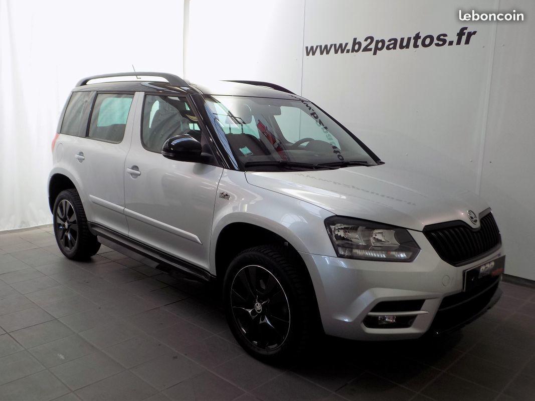 photo vehicule vendu - Skoda yeti 2.0 tdi 140 cv monte carlo