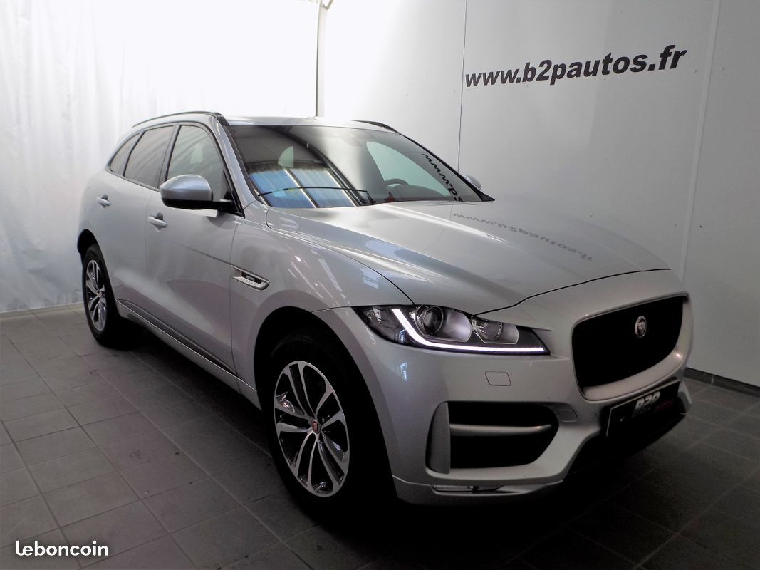 photo vehicule vendu - Jaguar f-pace 2.0 d awd 180 cv r-sport bva