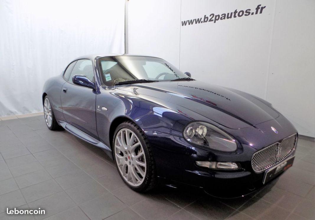 photo vehicule vendu - Maserati gransport 4.2 l v8 400 cv superbe etat