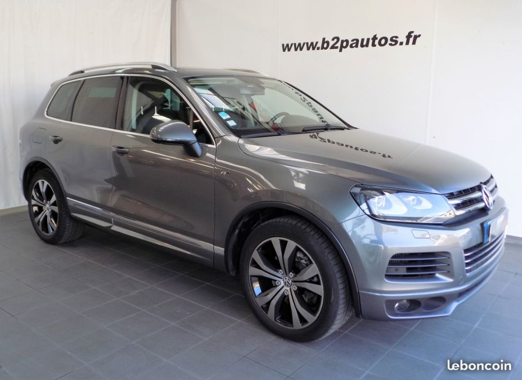 photo vehicule vendu - Volkswagen touareg 4.2 tdi 340 cv r-line