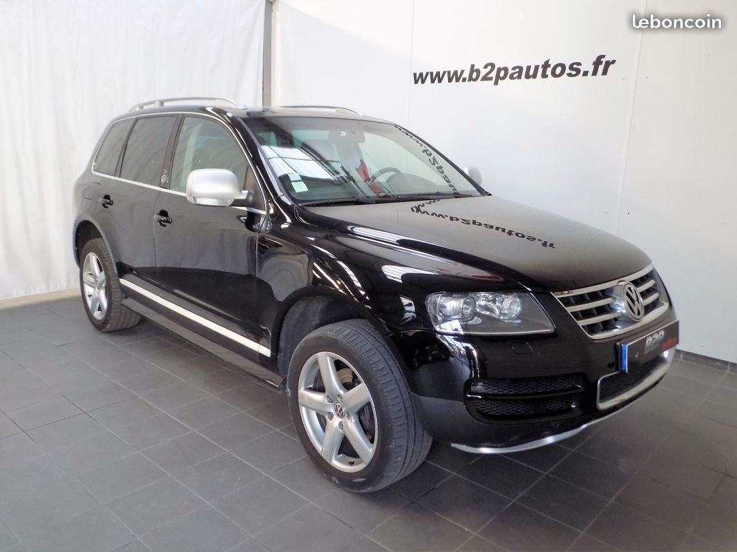 photo vehicule vendu - Volkswagen touareg 3.0 tdi v6 224 cv king kong