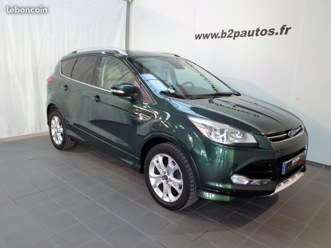 photo voiture ford Ford kuga 2.0 tdci 150 cv sport platinium cuir