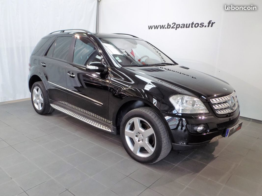 photo vehicule vendu - Mercedes ml 320 cdi 224 cv luxury to gps ja amg
