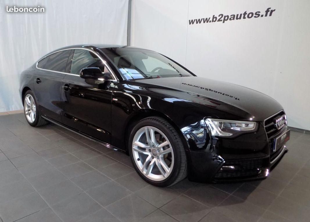 photo vehicule vendu - Audi a5 sportback 2.0 tdi 190 cv s-line