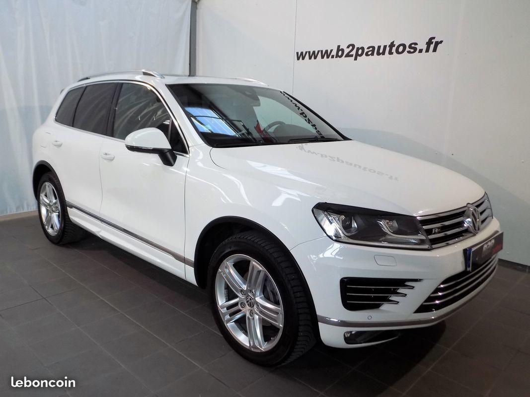 photo vehicule vendu - Volkswagen touareg 3.0 tdi v6 262 cv r-line 4x4