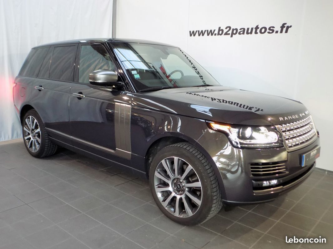 photo voiture land_rover Land rover range rover 4.4 sdv8 autobiography