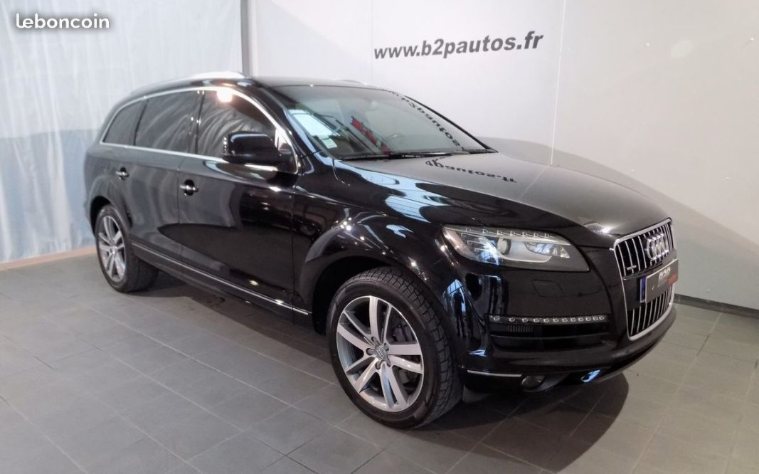 photo voiture audi Audi q7 4.2 v8 tdi 340 cv ambition luxe