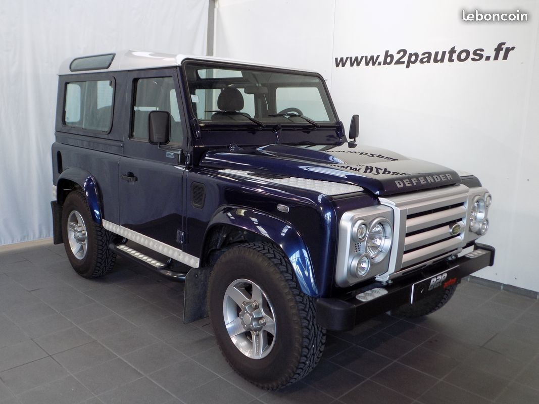 photo vehicule vendu - Land rover defender serie limitee atlantic 13000km