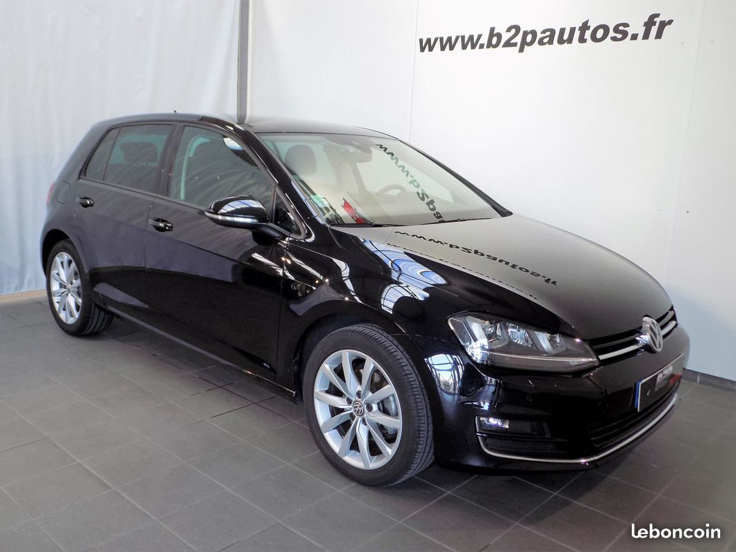 photo vehicule vendu - Volkswagen golf vii 7 2.0 tdi 150 cv semi cuir led