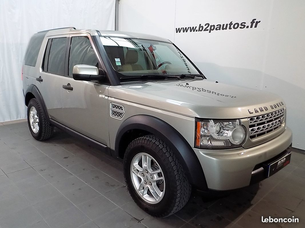 photo vehicule vendu - Land rover discovery iii 2.7 tdv6 190 cv 4x4