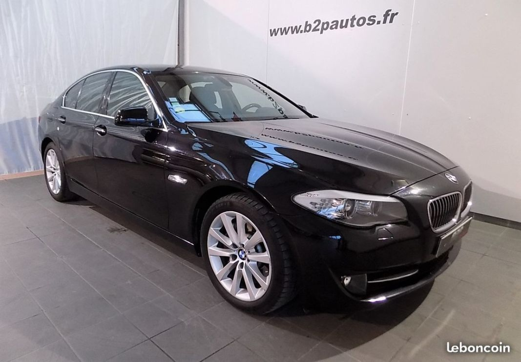 photo voiture bmw Bmw serie 5 525d 218 cv bva8 luxe
