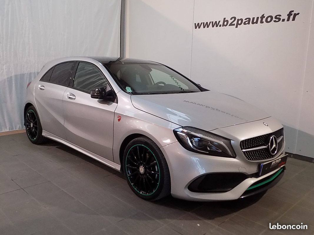 photo voiture mercedes Mercedes classe a 200 d motorsport edition 1 main