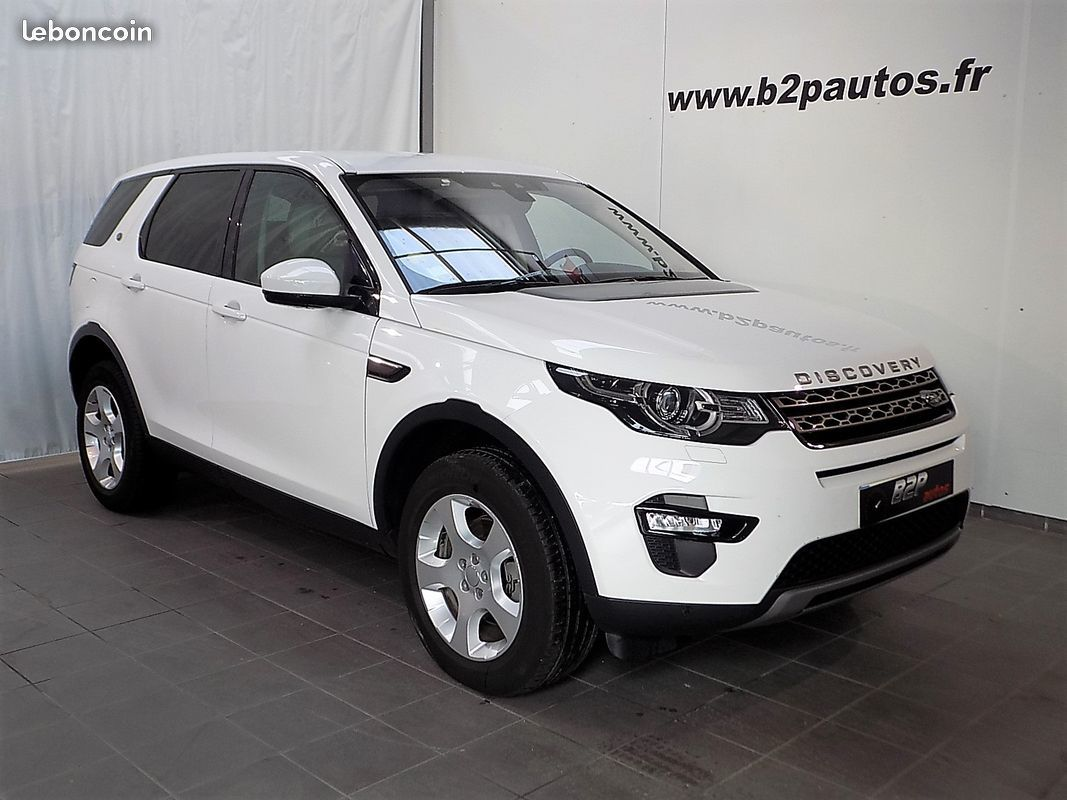 photo vehicule vendu - Land rover discovery sport 2.0 ed4 150 cv bv6 cuir