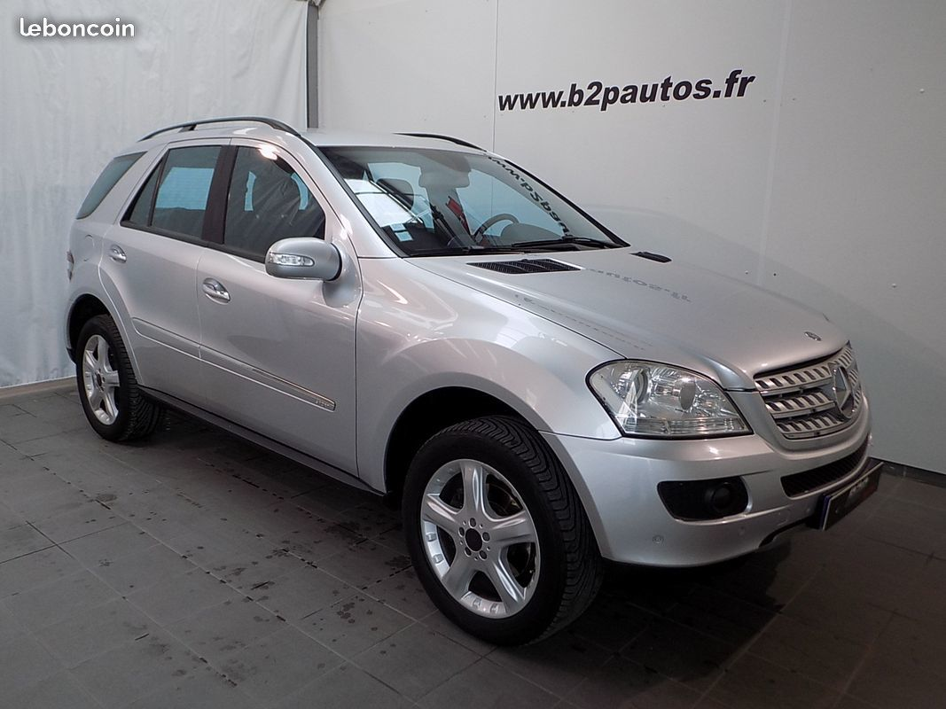 photo vehicule vendu - Mercedes ml 320 cdi v6 224 cv bva sport