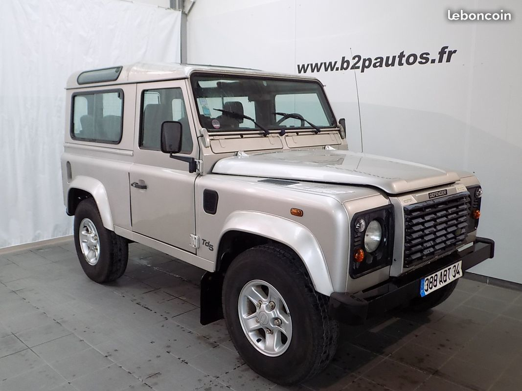 photo vehicule vendu - Land rover defender 90 sw td5 6 places