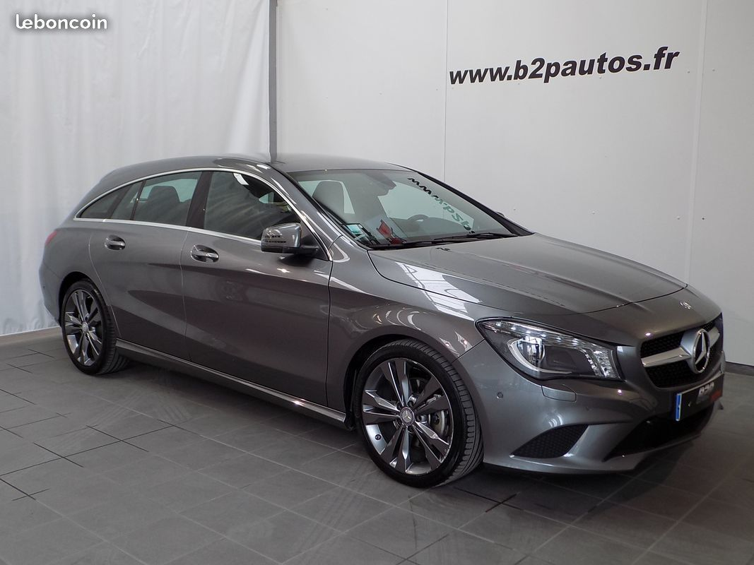 photo voiture mercedes Mercedes cla 220 cdi shooting break 177 cv gps