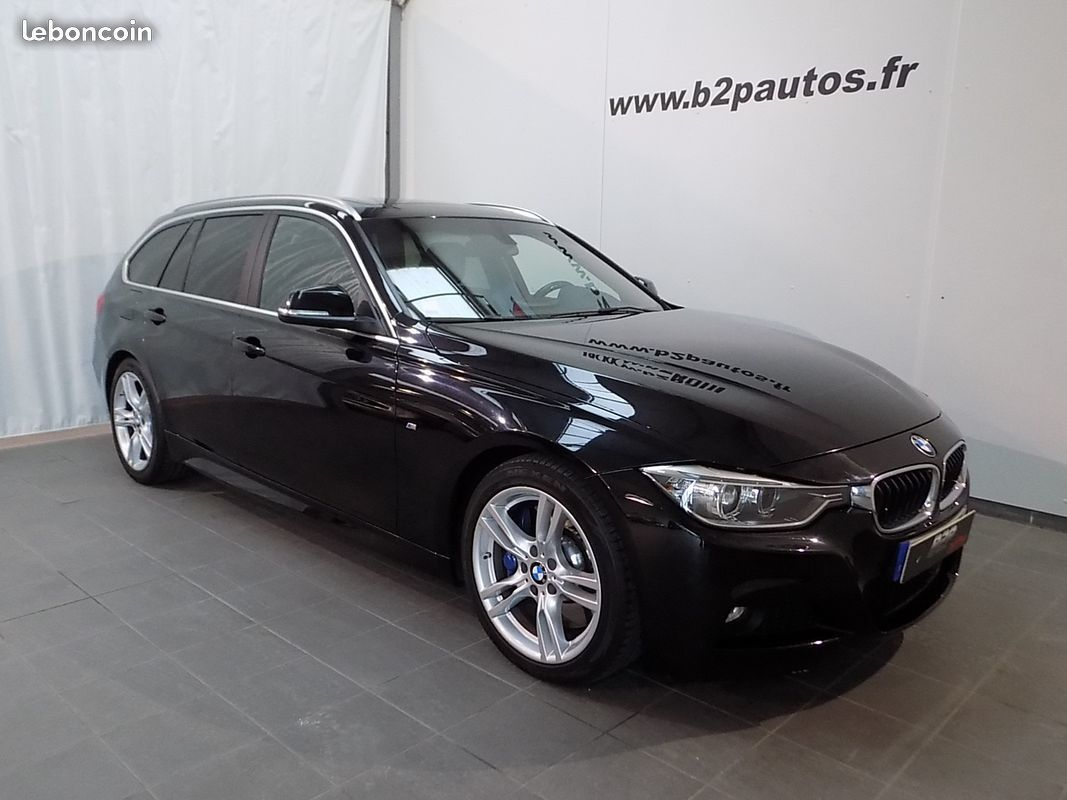 photo voiture bmw Bmw serie 3 330d touring pack m 258 cv bva led
