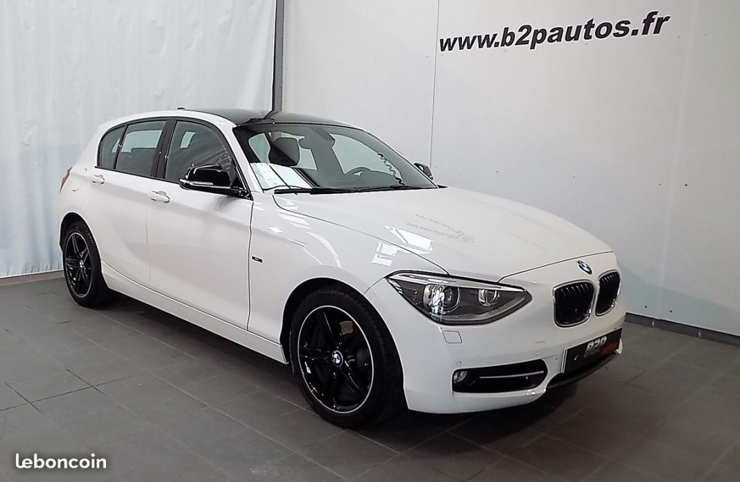 photo voiture bmw Bmw serie 1 120 d sport 184 cv bv6 led 120d