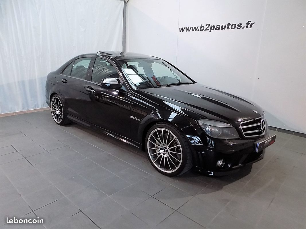 photo voiture mercedes Mercedes c63 amg c 63 v8 487 pack performance 6.3