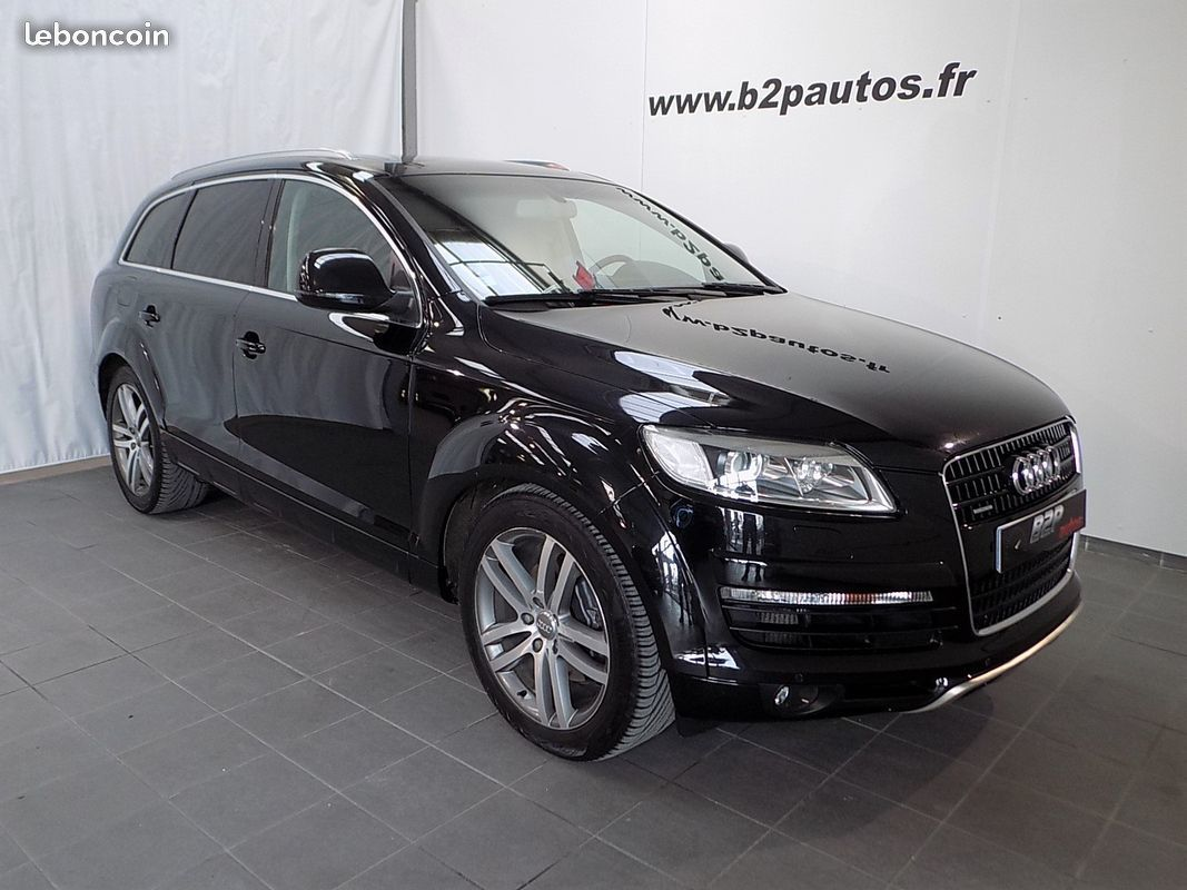photo vehicule vendu - Audi q7 4.2 tdi v8 326 cv ambition luxe off-road