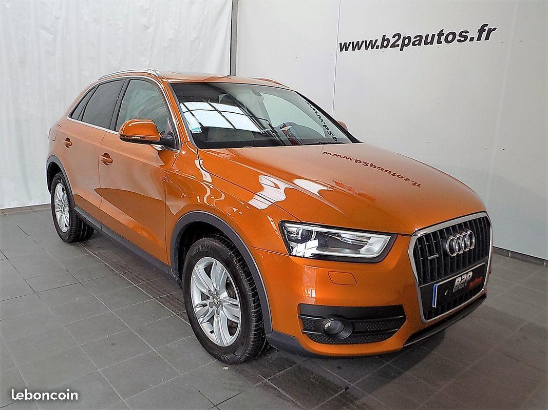photo vehicule vendu - Audi q3 2.0 tdi 177 ch ambition luxe quattro