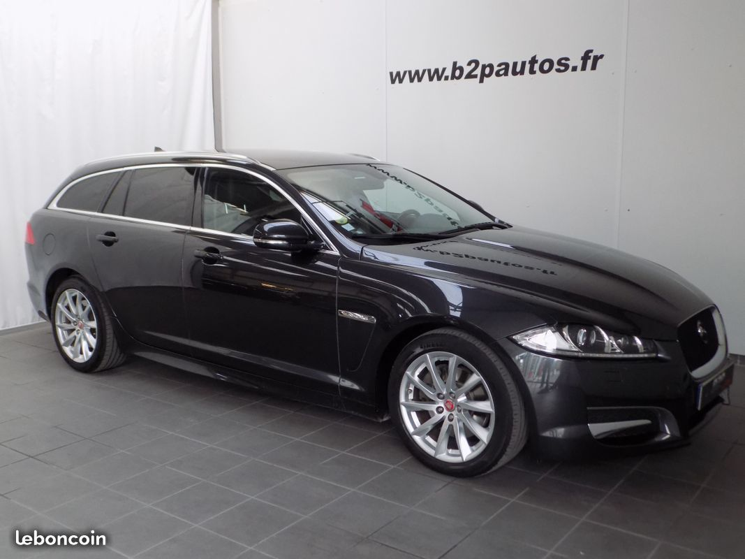 photo voiture jaguar Jaguar xf 2.2 d 200 cv british edition sportbrake