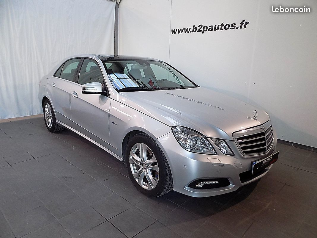 photo vehicule vendu - MERCEDES CLASSE E350 CDI BlueEFFICIENCY 231 CH 5P