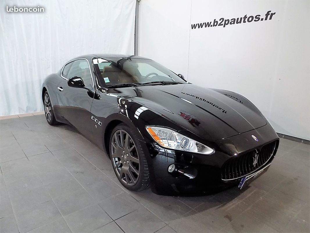 photo vehicule vendu - Maserati granturismo v8 4.2 l 405 ch bva 92000 kms