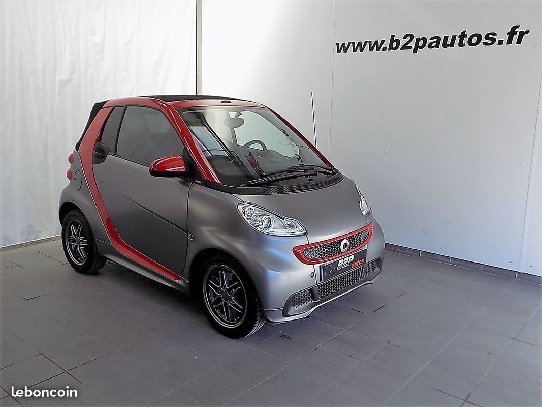 photo vehicule vendu - Smart fortwo cabriolet 71 mhd bva cuir