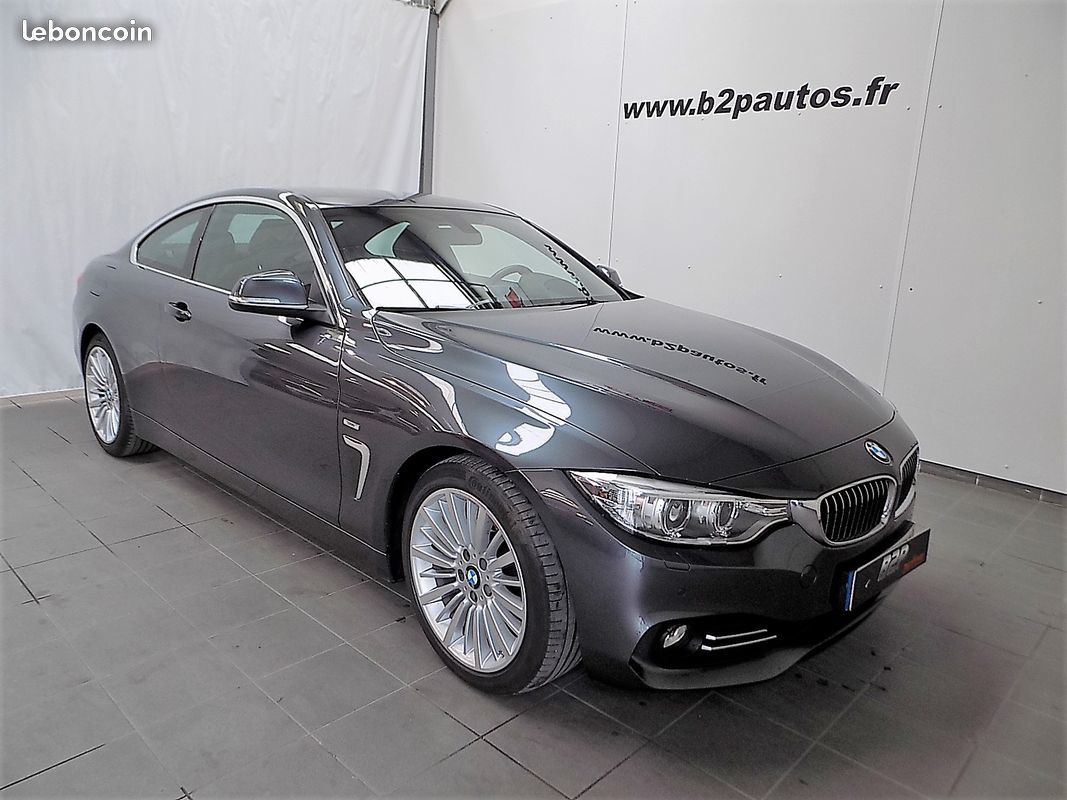 photo voiture bmw Bmw serie 4 coupe 258 ch 430d luxury volant m