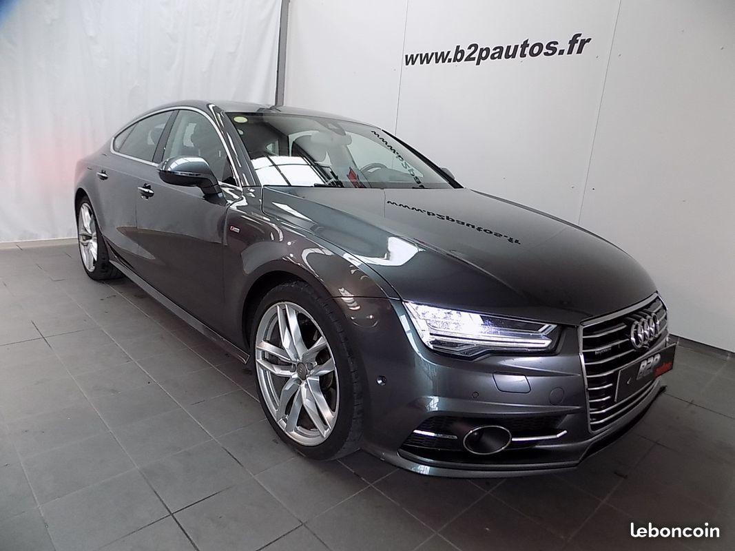 photo vehicule vendu - Audi a7 3.0 v6 tdi 320 ch bi-tdi quattro s-line
