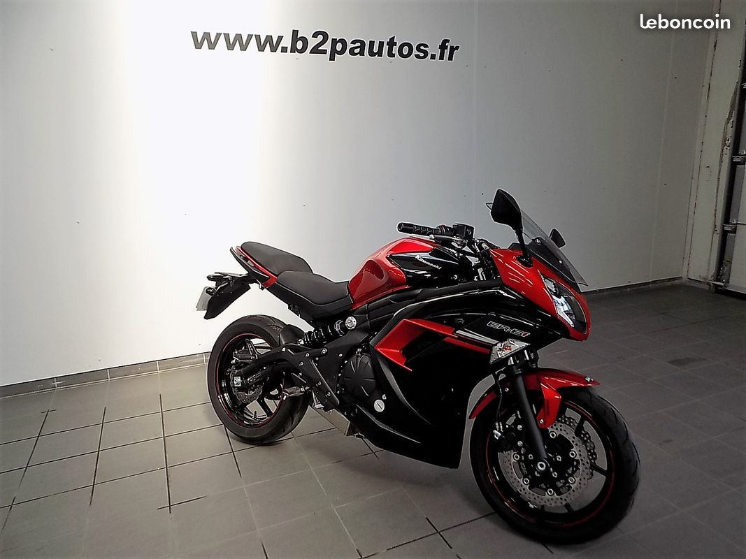photo voiture  Kawasaki er-6f abs er-6 / er6 f possibilité a2