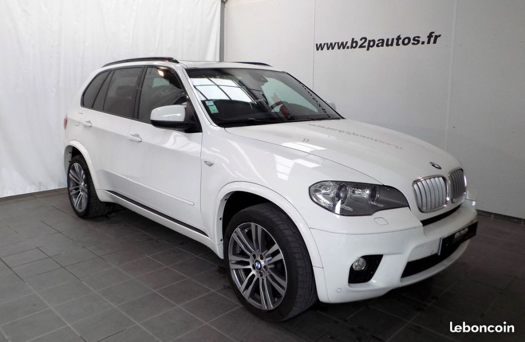 photo voiture bmw Bmw x5 4.0 d 306 ch pack m toit pano gps