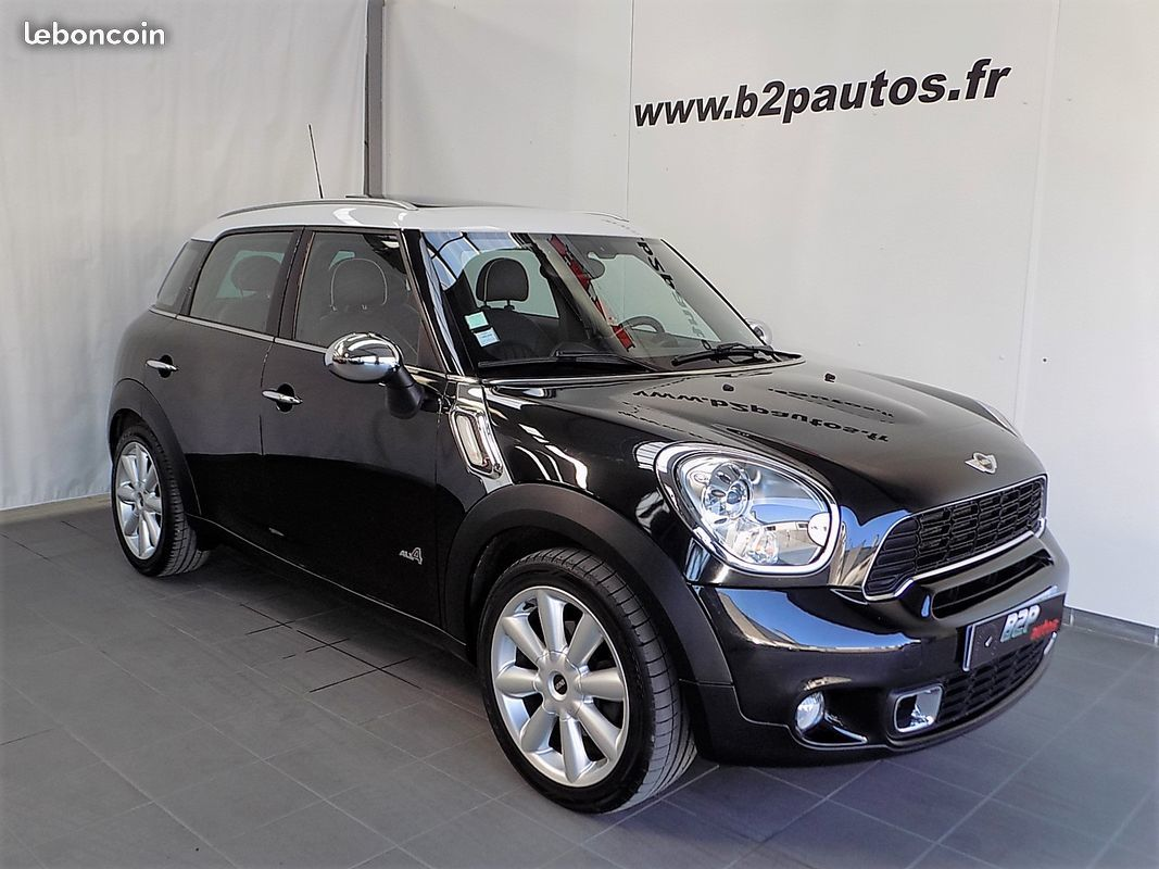 photo voiture mini Mini countryman cooper sd all4 143 ch pack chili