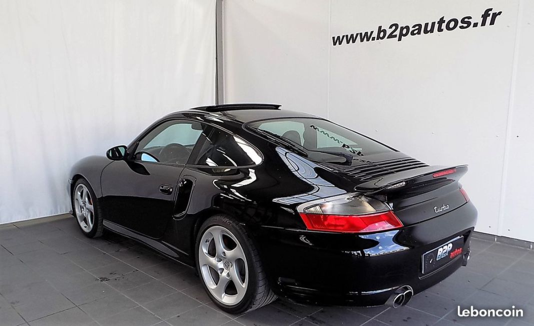 photo secondaire Porsche 911 turbo 996 3.6 l 420 cv 59500kms porsche
